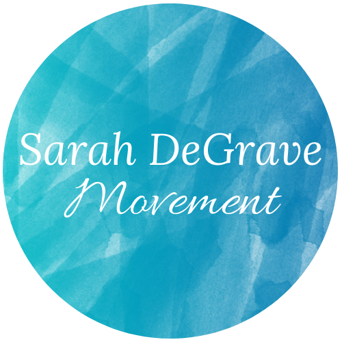 Sarah DeGrave Movement Logo